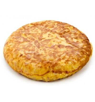 Tortilla de Patata y Cebolla Confitada