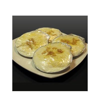 Concha Crema Patata y Brandada