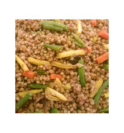Trigo Sarraceno con Verduras y Curry