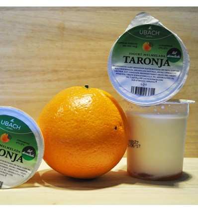 Yogurt Desnatado Mermelada Naranja Artesanal