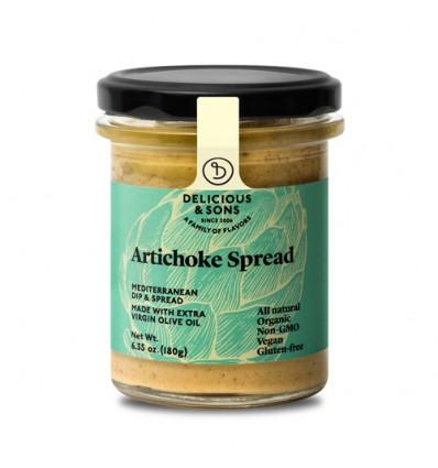 Paté de alcachofas ecológico