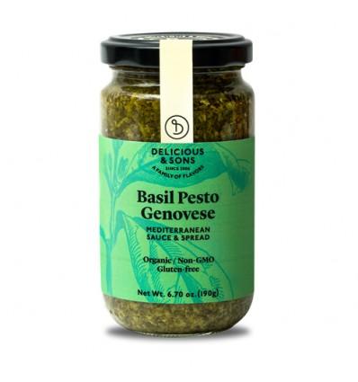 Pesto genovese de albahaca ecológica